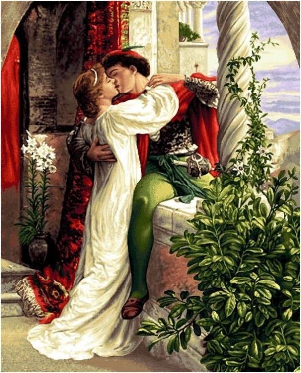 более ромео и джульетта с картинками домика